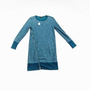 Banana Republic Asymmetrical Zip Sweater Dress NWT